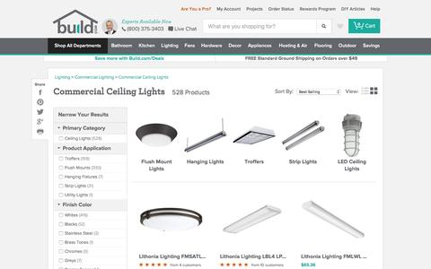 Commercial Ceiling Lights at Build.com