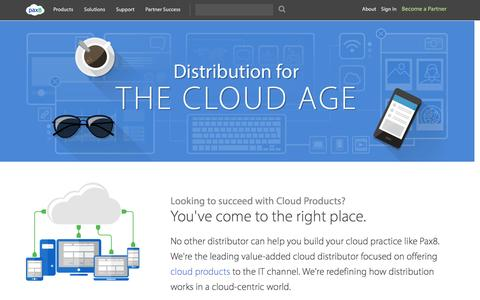 Pax8 – Distribution for the Cloud Age | Pax8