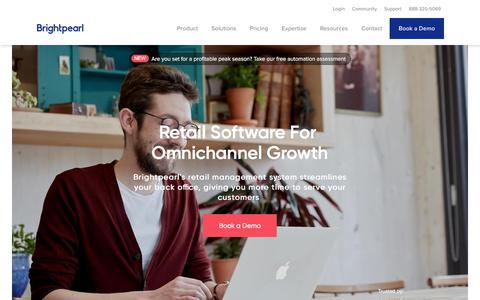 Omnichannel Retail Software - Retail Management System | Brightpearl