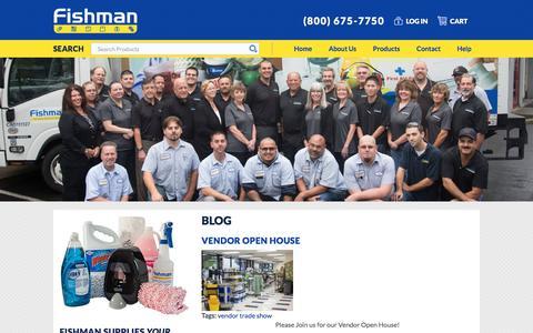Screenshot of Blog fishmansupply.com - Blog   Fishman Supply - captured Oct. 13, 2017