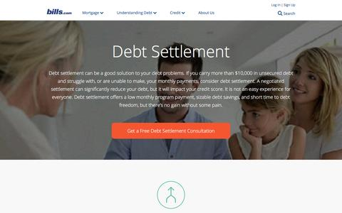 Debt Settlement Overview