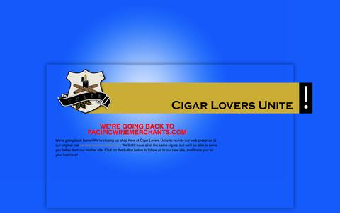 Screenshot of Contact Page cigarloversunite.com - Contact us - Cigar Lovers Unite! - captured Nov. 5, 2016