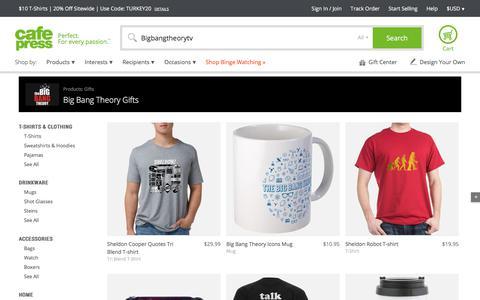 The Big Bang Theory Gifts - CafePress