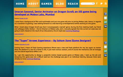 Screenshot of Blog moboxlabs.com - Blog | Mobox Labs - captured Oct. 7, 2014