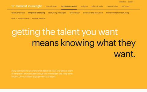 Employer Branding Solutions | Randstad Sourceright