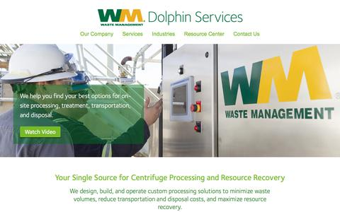 Waste Management Dolphin Services