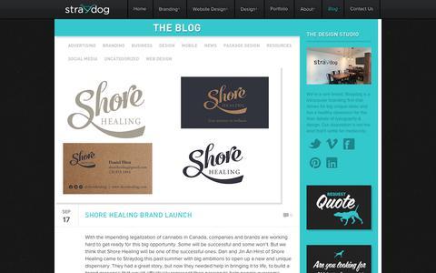 Screenshot of Blog straydogbranding.com - Vancouver Branding & Web Design / Straydog™ / Graphic Design Firm, Responsive Web Design, Package Design – Straydog Branding Vancouver - Unleash Your Brand - captured Sept. 21, 2018