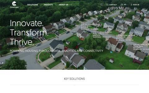 CoreLogic - Property Data Leader