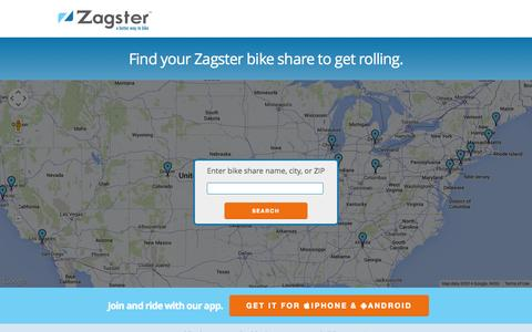 Screenshot of Signup Page zagster.com - Riders - Zagster - captured Sept. 17, 2014