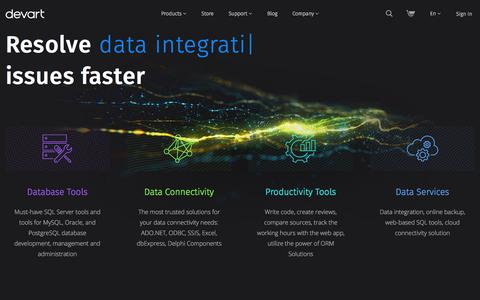Devart: Database Management Software, Data Access Components, Developer Tools