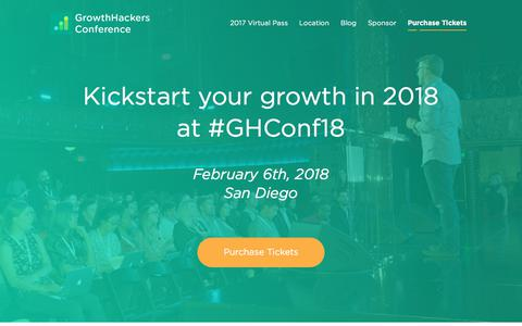GrowthHackers Conference 2018