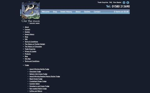 Screenshot of Site Map Page oer-the-moon.co.uk - Sitemap - captured Oct. 27, 2014