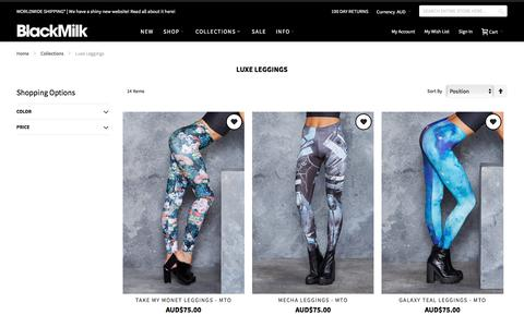Luxe Leggings - Collections