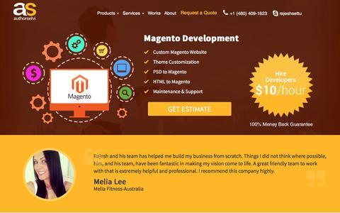 Magento Development - Authorselvi - Web and Mobile Application Development Company