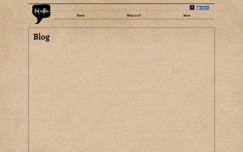 Screenshot of Blog fatcoffee.com.au - Blog - captured June 5, 2017