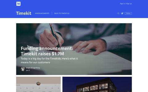 timekit io's Web Marketing Designs | Crayon