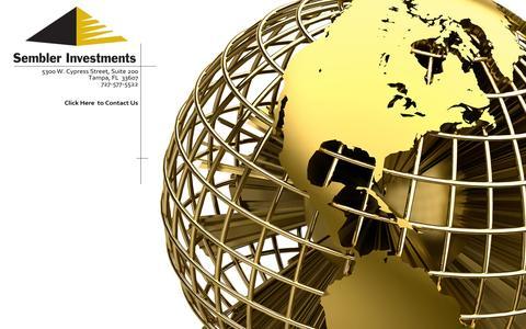Screenshot of Home Page semblerinvestments.com captured Sept. 30, 2014