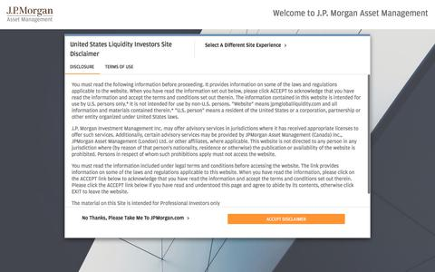 Home - J.P. Morgan Asset Management