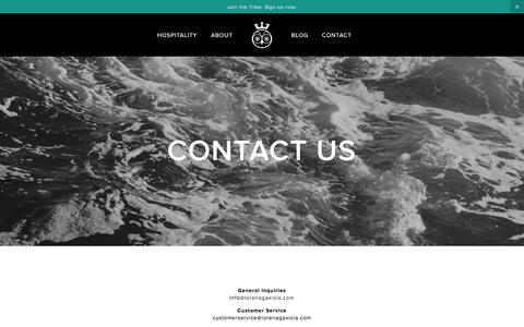 Screenshot of Contact Page lorenagaxiola.com - Contact Us Ń Lorena Gaxiola Official Site - captured Dec. 4, 2015