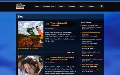 Screenshot of Blog afop.cz - Blog - AFOP.CZ - captured Oct. 4, 2014