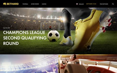 Screenshot of Blog bethard.com - Bethard Blog - Latest news, transfers, betting tips and welcome offers - captured July 30, 2018