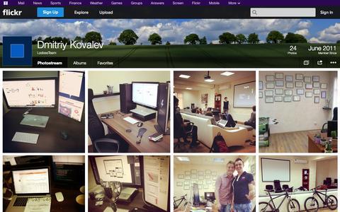 Screenshot of Flickr Page flickr.com - Flickr: LodossTeam's Photostream - captured Oct. 22, 2014