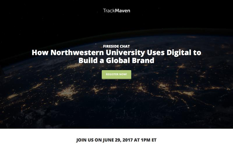 Fireside Chat with Northwestern University | TrackMaven