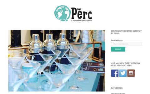Screenshot of Blog pactcoffee.com captured Dec. 25, 2015