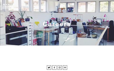 Screenshot of Jobs Page apathyisboring.com - Careers — Apathy is Boring - captured July 26, 2016