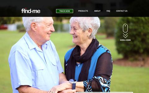 Screenshot of Home Page About Page Contact Page Products Page FAQ Page carerswatch.com.au - Home - captured Feb. 10, 2016