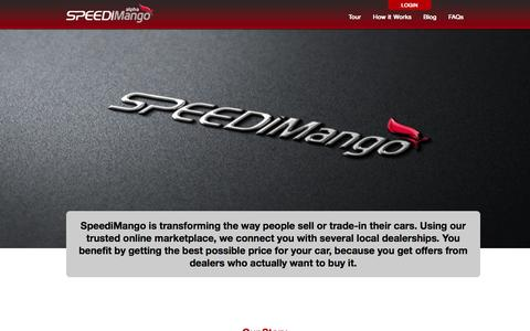 Screenshot of About Page speedimango.com - About | SpeediMango - captured Oct. 6, 2014