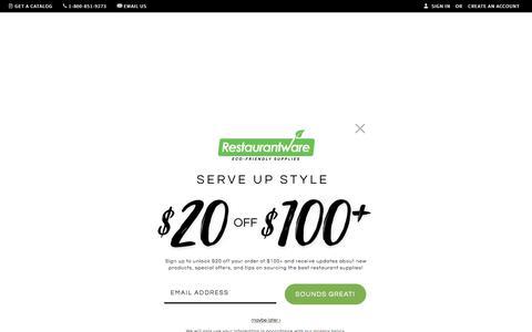 Screenshot of About Page restaurantware.com - Restaurantware.com | About Us - captured Nov. 3, 2019
