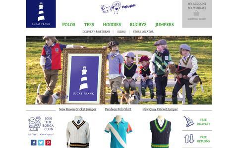 Screenshot of Privacy Page lucasfrank.com - Boys Designer Clothes | Designer Clothes for Kids  | Lucas Frank Clothing - captured Sept. 30, 2014