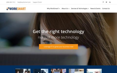 IT Services, Computer Tech Support, Network Security Services � Raleigh, Durham, Charlotte | WorkSmart