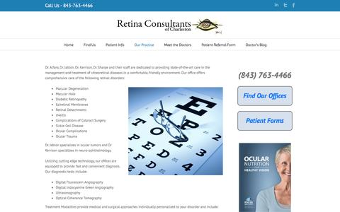 Our Practice | Retina Consultants of Charleston