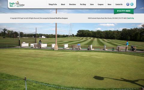 Screenshot of Press Page eagletee.com - » Our Golf Blog | Eagle Tee Golf West Chester - captured Sept. 26, 2018