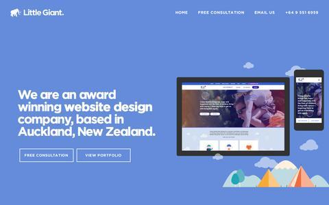Little Giant - Website design Auckland, NZ | web design nz | website designers