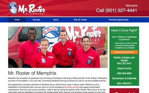 Screenshot of Testimonials Page mrrooter.com - Mr. Rooter of Memphis   Mr. Rooter - captured Sept. 22, 2014
