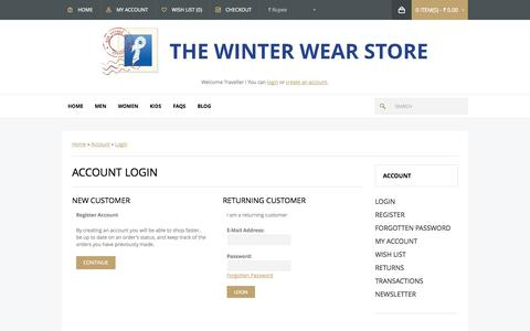 Screenshot of Login Page prrems.com - Account Login - captured Sept. 22, 2014