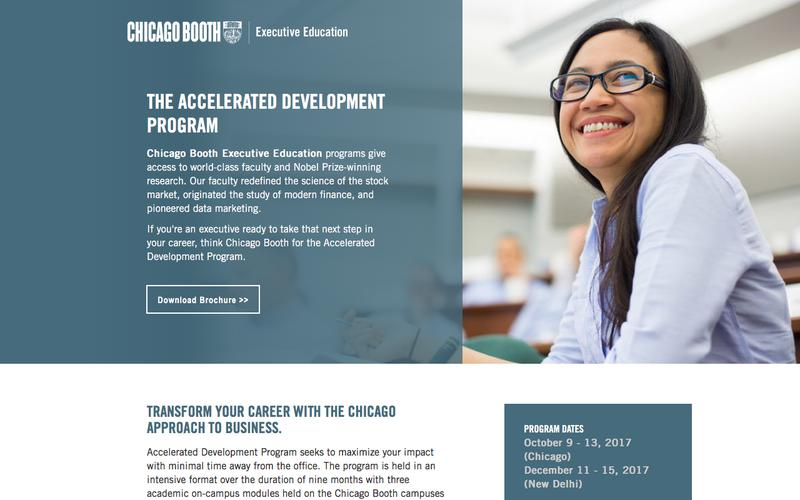 Executive Education at Chicago Booth | Accelerated Development