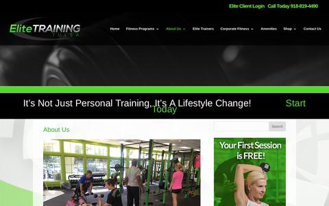 Elite Training Tulsa | About Us | Personal Training Tulsa | Elite Training