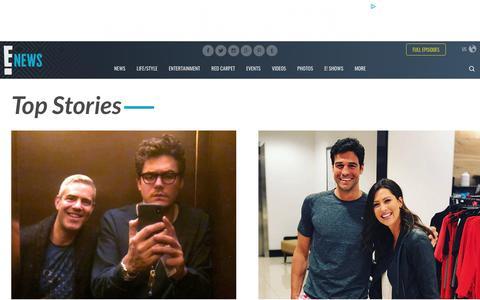 Screenshot of Press Page eonline.com - Breaking Celeb News, Entertainment News, and Celebrity Gossip | E! News - captured June 2, 2018