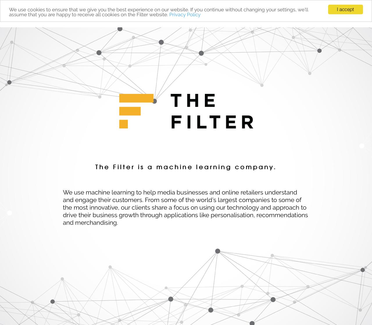 Screenshot of thefilter.com - The Filter - captured June 29, 2018