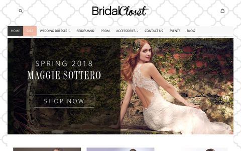 Bridal Closet Wedding Dresses   Bridal Shop   Maggie Sottero Retailer                      – mybridalcloset-dev