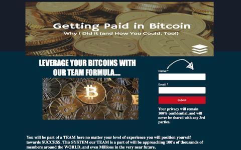 Screenshot of Landing Page pagewiz.net - Zarfund Bitcoin Leverage - captured Dec. 27, 2016