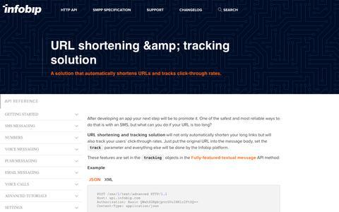 URL shortening & tracking solution