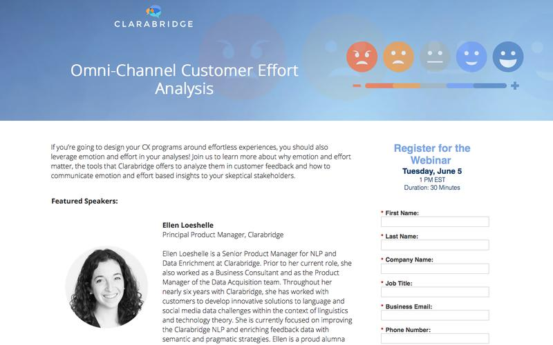 Omni-Channel Customer Effort Analysis