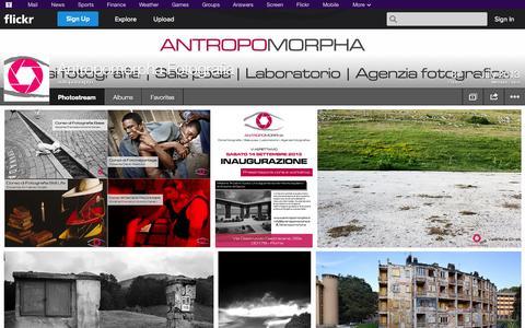 Screenshot of Flickr Page flickr.com - Flickr: antropomorpha's Photostream - captured Oct. 24, 2014