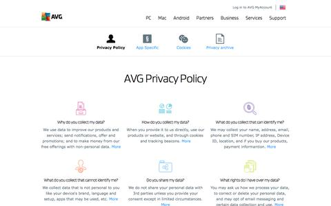Privacy Policy | We are serious about your privacy | AVG