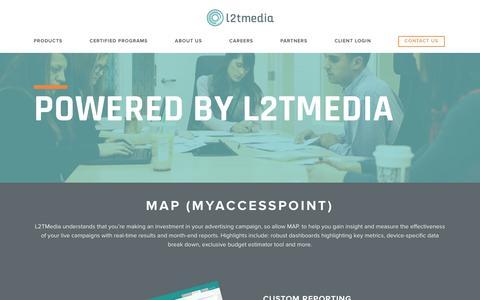Screenshot of Maps & Directions Page l2tmedia.com - L2TMedia | L2TMedia |   New MAP - captured Dec. 17, 2015